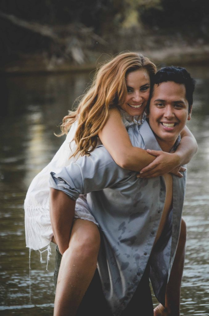 salt river arizona engagement photography session