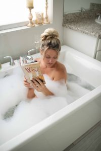 Bubble bath boudoir Phoenix Arizona