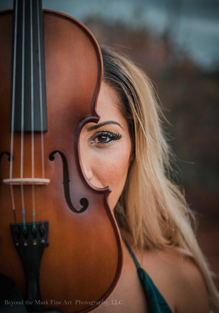 Phoenix music photography violinist